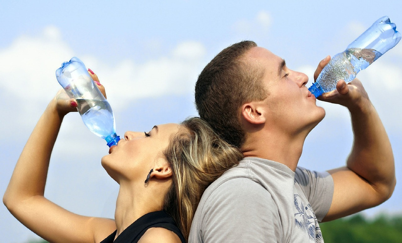 Drink water to stay hydrated Keppy Family Chiropractic